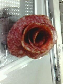 вот такая роза и колбасы у меня получилась фото 1