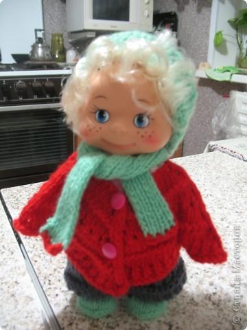 Кукла Марина к зиме готова!