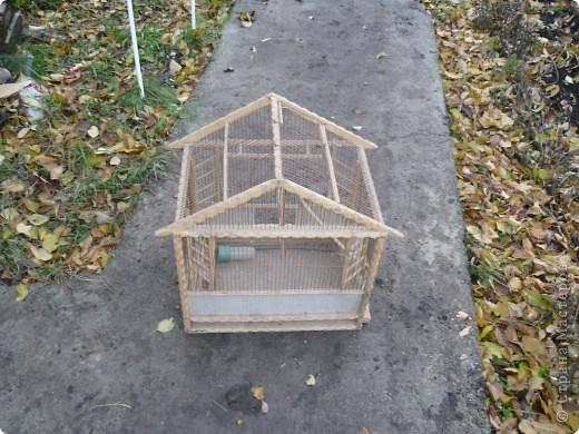 Домик для попугайчика фото 1