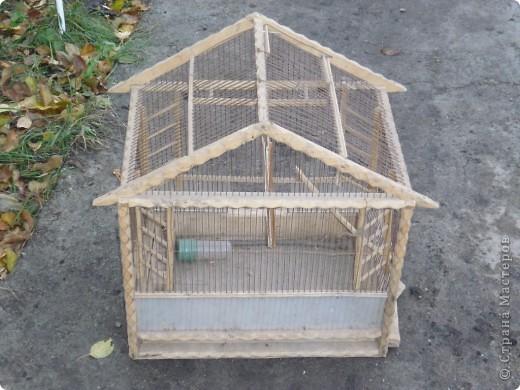 Домик для попугайчика фото 2