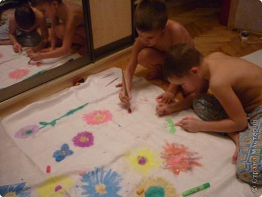 Детский дизайн скатерти))) фото 2
