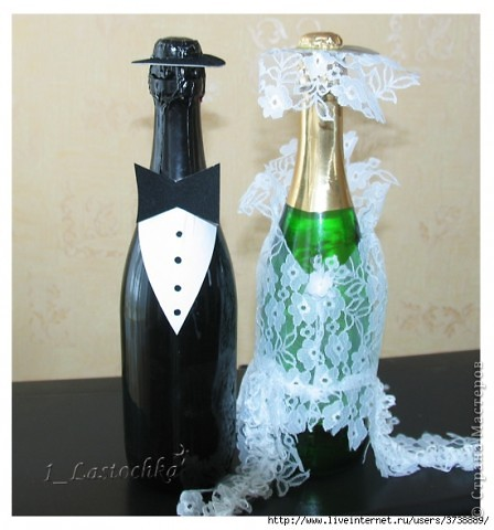 Он+Она=Украшение свадебного стола