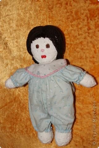 вязаная кукла для дочки