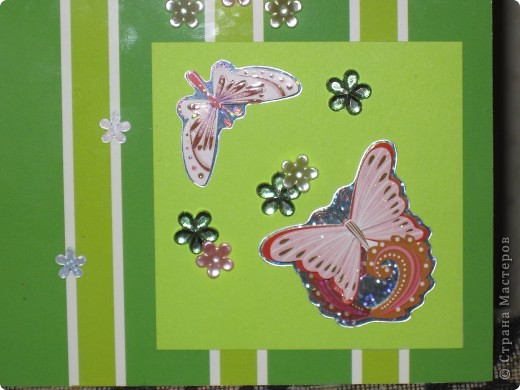 Открытка Бабочки фото 3