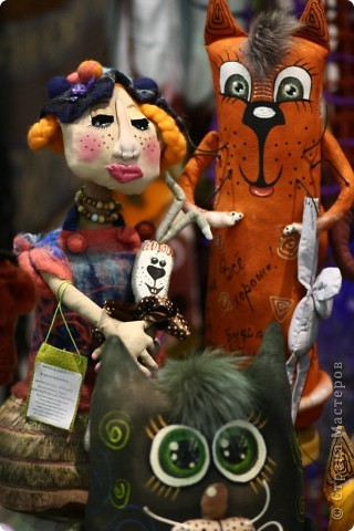 В Красноярске осенью прошла Краевая выставка ремёсел. Предлагаю Вашему вниманию фоторепортаж с этой выставки. Красота неописуемая! фото 18