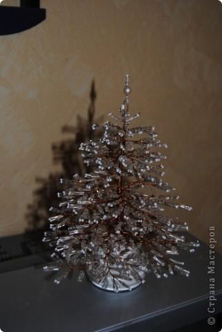 Вот и мы готовимся к Новому году, сплелась первая елочка.. фото 2