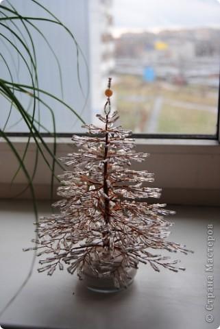 Вот и мы готовимся к Новому году, сплелась первая елочка.. фото 3