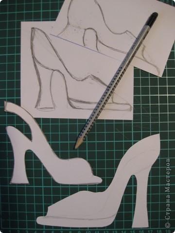 """Сегодня, я первоклассникам предложила сделать открытку к Дню матери. Идея возникла после того, как я набрала в поисковике картинок, волшебное словосочетание """"цветочная туфелька"""".... Источник вдохновения колосальный!!!!! фото 7"""