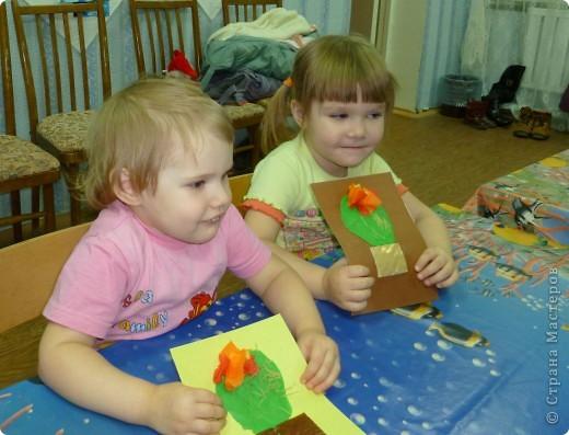 Спасибо за идею Sandalkе!      http://stranamasterov.ru/node/108932?tid=903  Сегодня с ребятишками делали кактус. Вдохновились посмотрев мультфильм  «Лунтик кактус» и вот наши цветущие кактусы.  фото 4