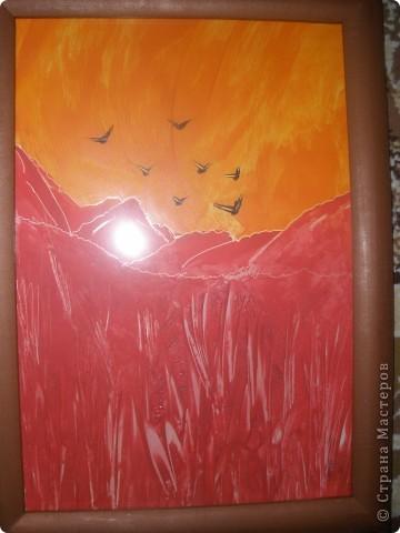 Золотая осень. Увидела у Ольги Гришняковой работу -ну уж очень понравилась!!!!!http://stranamasterov.ru/node/48588?tid=1485