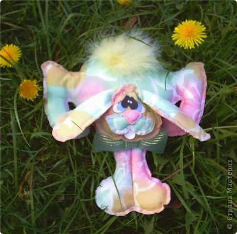 2011 год кролика или кота. Вот такой кролик очень прост в исполнении. Глазки расписаны акрилом. Набит кролик синтепоном. Хвостик из птичьего пуха. Если вам интересна выкройка могу поделиться