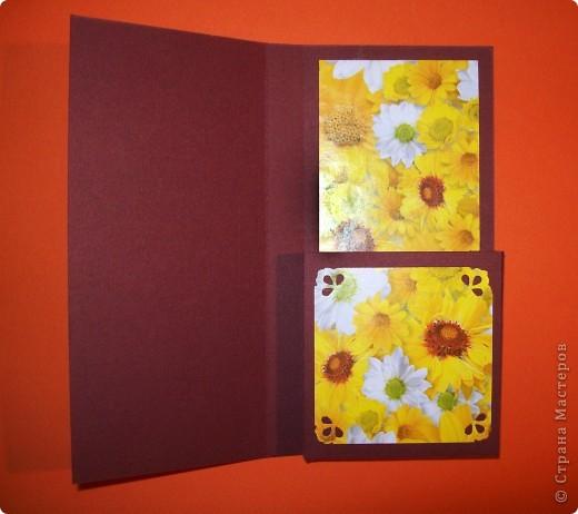 Такая вот коробочка-открытка для шоколадки:) Идея не моя фото 3