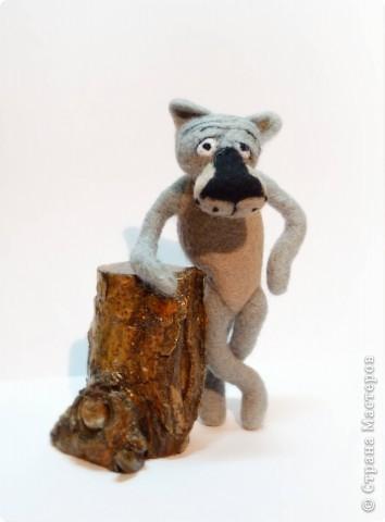 Шерсть, каркас, дерево. фото 1