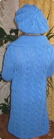 Комплект выполнен из полушерсти Yarn Art . Спицами № 5 фото 3