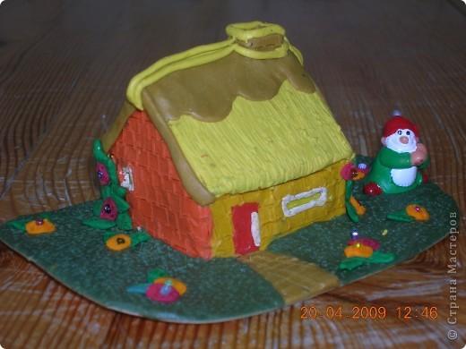 Из таких маленьких домиков мы  составляем деревушки. Моим воспитанникам это очень нравится.