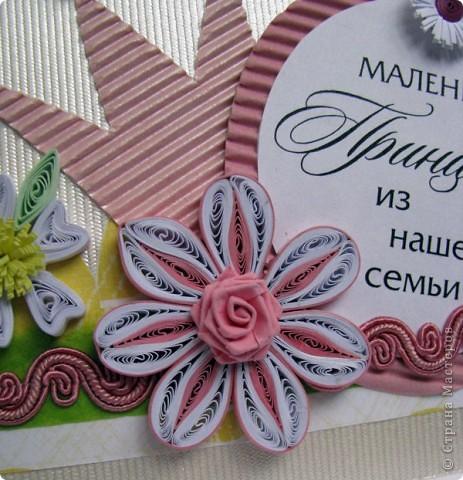 открытка для маленькой принцессы, сделана для моей 4х летней племянницы на день рождение фото 3