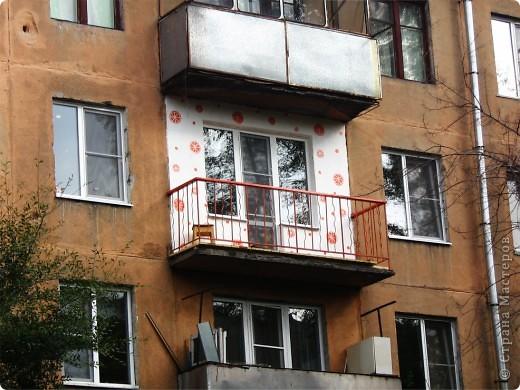 Этим летом переехали с парнем в квартиру, весь ремонт делали своими силами и с родительской помощью и поддержкой! Я взялась за балкон, вот что из этого вышло 0=) фото 1