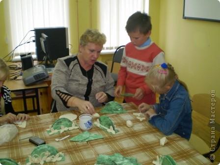 Салфетница  К Дню Учителя мы с детьми подготовили небольшие подарки для ветеранов педагогического труда нашей школы и учителям. фото 2