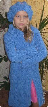 Комплект выполнен из полушерсти Yarn Art . Спицами № 5 фото 1