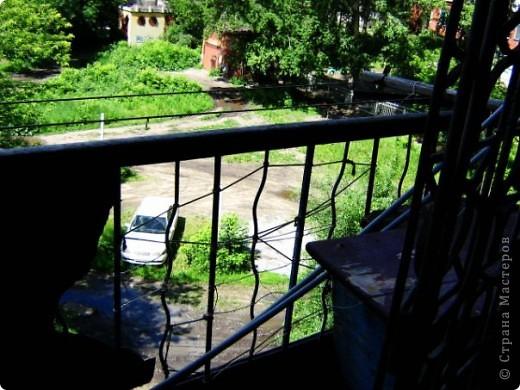 Этим летом переехали с парнем в квартиру, весь ремонт делали своими силами и с родительской помощью и поддержкой! Я взялась за балкон, вот что из этого вышло 0=) фото 3