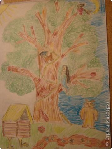 У лукоморья дуб зелёный...
