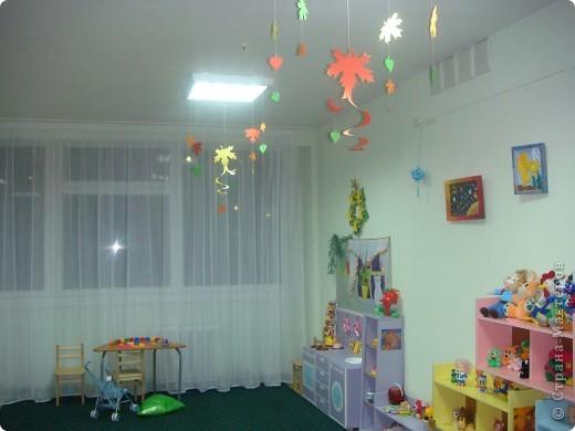 Две недели как начал работать наш детский сад и моя группа. Месяц назад получили в наследство пустые стены, отсутствие мебели и старые-старые книжные полки. Теперь наведен порядок и создан какой-никакой уют. фото 7