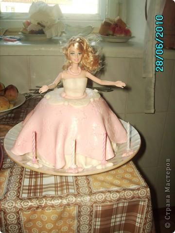 Тортик для моей дочери фото 1
