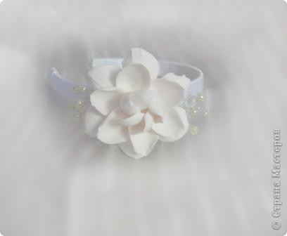 нежно розовая гардения. фото 1