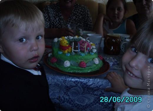 Тортик для моей дочери фото 3