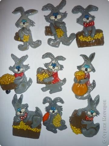 Кролики -магнитики