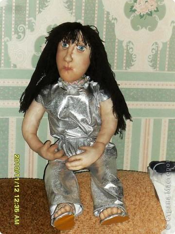 Первая текстильная кукла фото 2