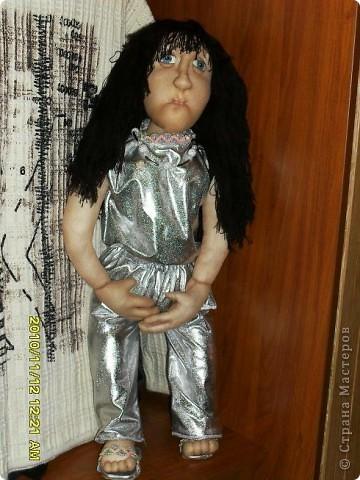 Первая текстильная кукла фото 1