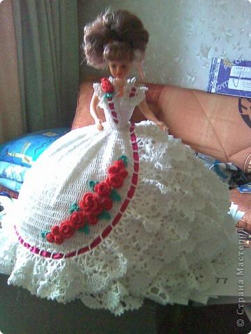 Вязание крючком бальное платье для девочки