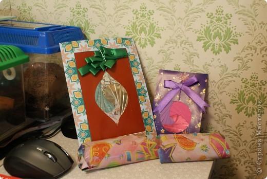 Эти открытки мы с детьми делали для их крестных мам к прошлому Рождеству.