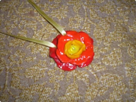 Кулон - цветочек для доченьки фото 1