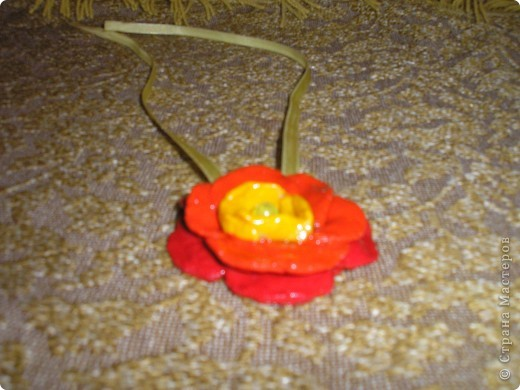 Кулон - цветочек для доченьки фото 2
