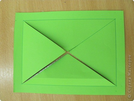 ОЧЕНЬ ЛЕГКО и ПРОСТО!!!!  Рамочка выполняется из обычного листа бумаги для принтера (наверное можно и из тонкого картона?!). фото 2