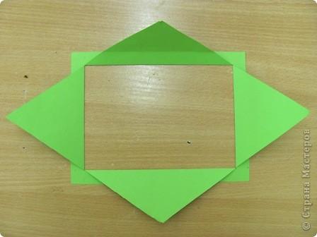ОЧЕНЬ ЛЕГКО и ПРОСТО!!!!  Рамочка выполняется из обычного листа бумаги для принтера (наверное можно и из тонкого картона?!). фото 3