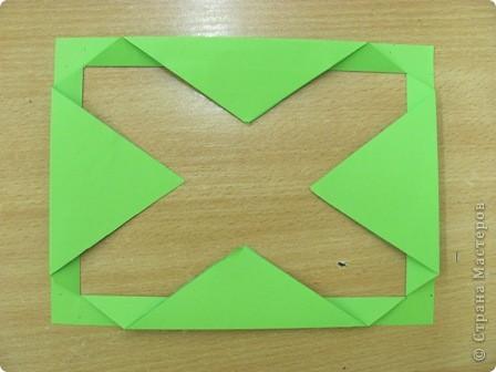 ОЧЕНЬ ЛЕГКО и ПРОСТО!!!!  Рамочка выполняется из обычного листа бумаги для принтера (наверное можно и из тонкого картона?!). фото 4