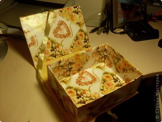 Не удержалась..и вот еще одна коробочка)) фото 8