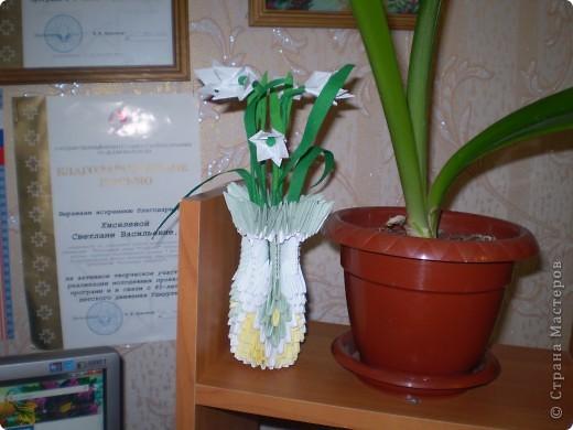 Первые опыты модульного оригами, спасибо Просняковой Т.Н. фото 2