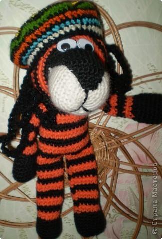 Символ уходящего года - тигрёнок Боб