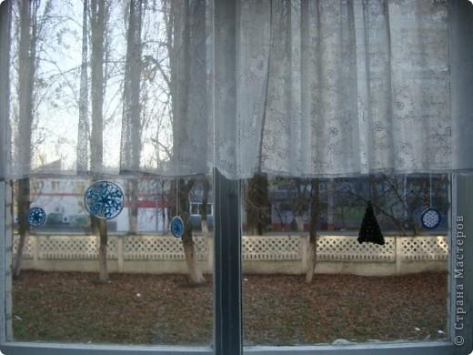Снежинка, круглая основа - браслет. фото 7