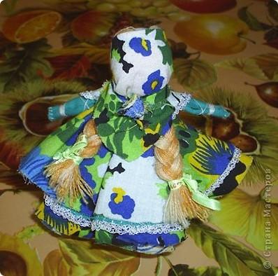 Как-то  на Пасху делала своей дочке куклу- колокольчик. Видела на сайте их много, решила показать и свою. фото 2