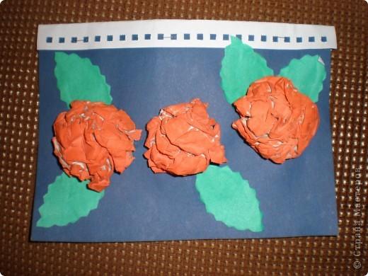 Такие открытки в подарок мамам мы делали с детьми старшего дошкольного возраста (5-6 лет) фото 1