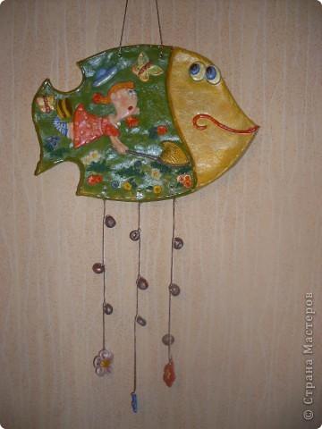 Летом хорошо. Открываю серию рыбок-мультяшек. Рисунок из детской книги, к сожалению не знаю художника, найду книгу, укажу. фото 1