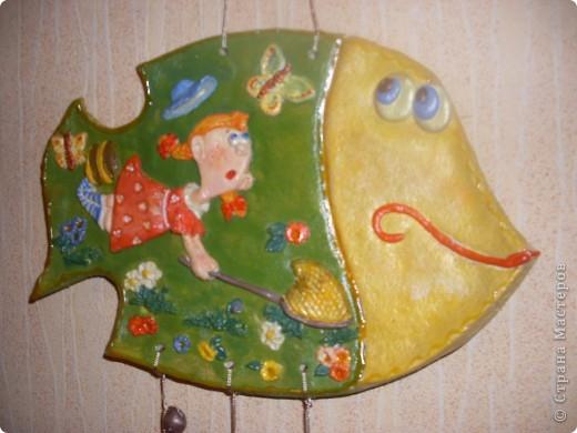 Летом хорошо. Открываю серию рыбок-мультяшек. Рисунок из детской книги, к сожалению не знаю художника, найду книгу, укажу. фото 3