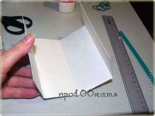 За основу взяла мастер-класс Елены 2010,за что ей огромное спасибо.Но решила сделать не складную шкатулку,а что-то вроде ширмы. фото 5