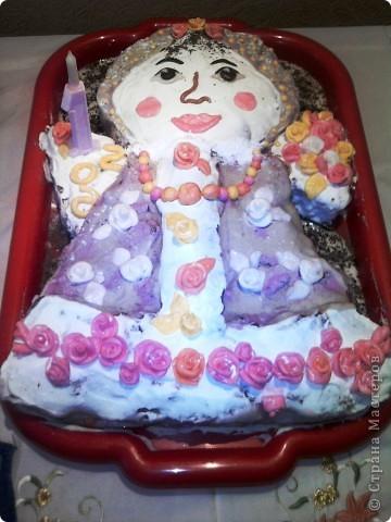 Украшение торта ко дню рождения
