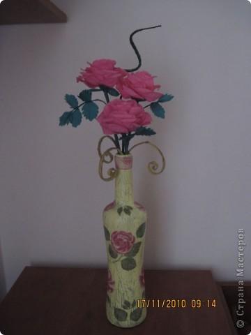 Бумажные розы фото 1